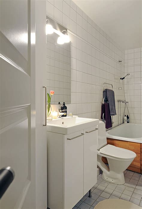 small studio bathroom ideas inspiring small apartment with vintage details freshome com