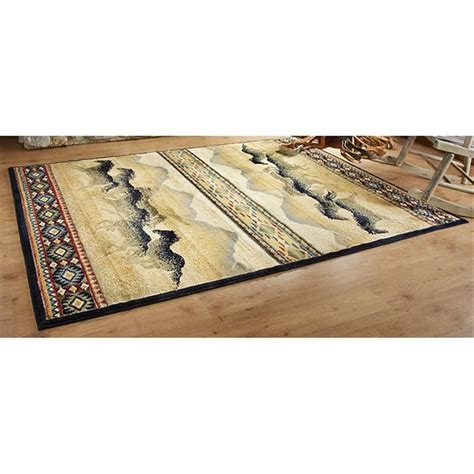 5x8 Area Rugs Clearance by Horses 5x8 Area Rug 203792 Rugs At Sportsman S Guide