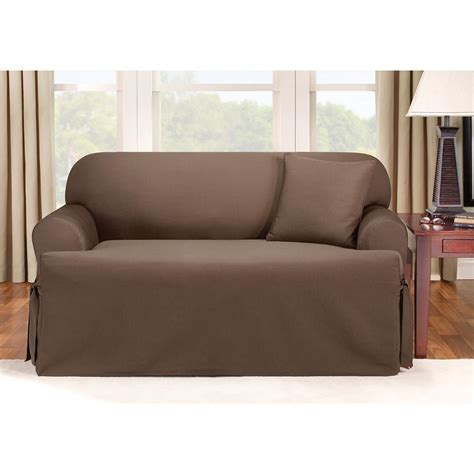 sports couch covers sure fit 174 logan t cushion sofa slipcover 292833