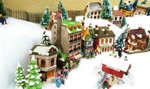 miniature christmas village villages pinterest