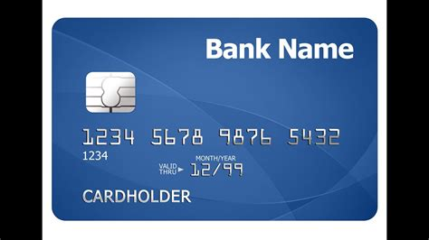 credit card template numbers create new credit card design in photoshop cc 2015