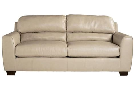 durablend leather sofa rimini taupe durablend leather sofa at gardner white