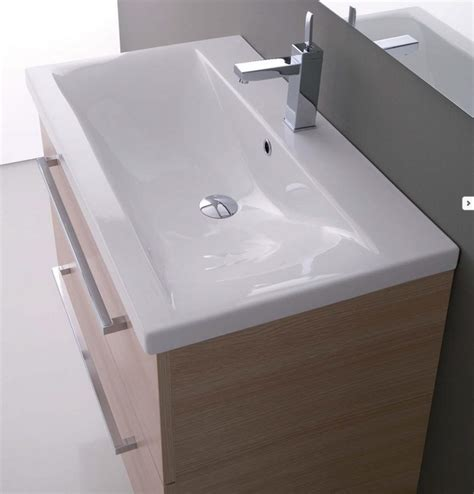 lavello sospeso mobile da bagno sospeso con lavabo clever 71