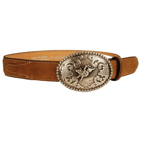 Rugs For Boys by Nocona Inc Childrens Western Leather Belt