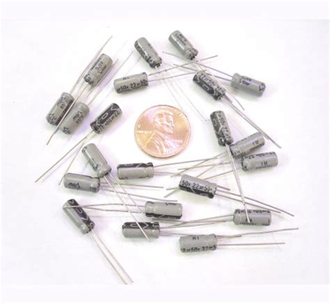 22 microfarad electrolytic capacitor electrolytic capacitors 22uf microfarad 50 volt radial quantity 10 ebay