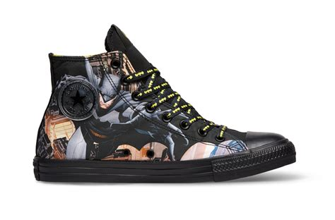 batman converse shoes converse chuck all dc comics now in stores