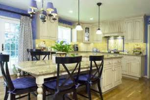 yellow kitchen theme ideas blue and yellow kitchens in styles home