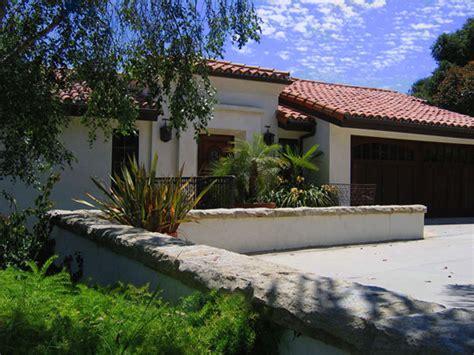 santa barbara home remodels santa barbara spanish santa barbara california before after spanish hacienda