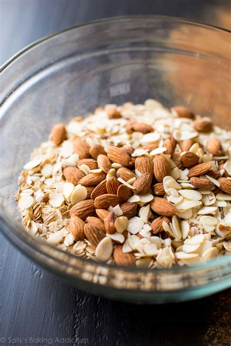 Almonerd Granola almond maple granola