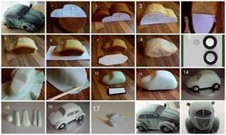 diy beetle car cake diy projects usefuldiy