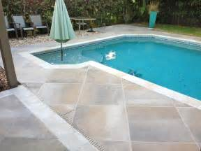 pool deck concrete designs florida slate tile