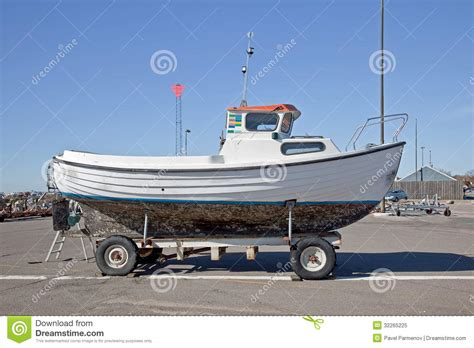 boat with wheels video boat on wheels royalty free stock photo image 32265225