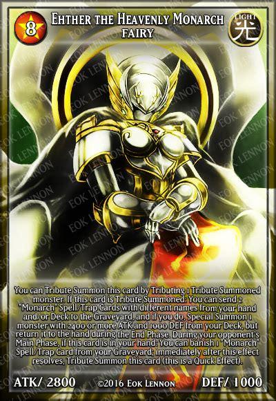 Yugioh Ether The Heavenly Monarch Original ehther the heavenly monarch by e o k on deviantart