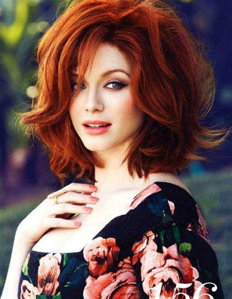 long red bob 100 hottest short hairstyles haircuts for women
