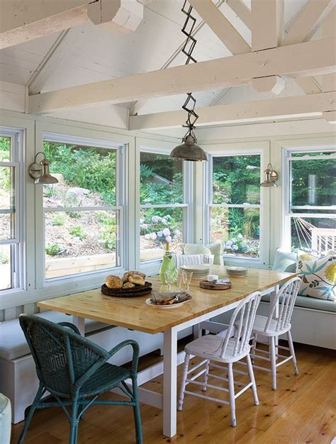 reasons  kitchen   banquette conservatory