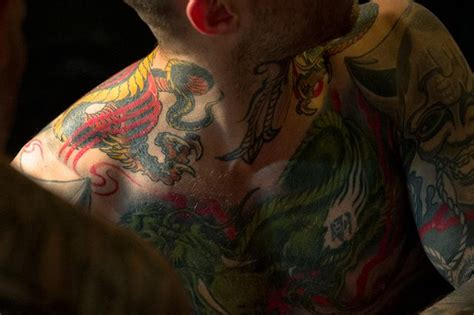 tattoo capital of the us the tattoo capital of britain has one inking parlour for