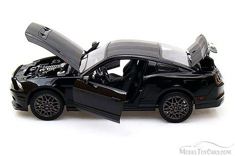 news diecast toys die cast model cars collectible 2013 ford shelby gt500 black shelby collectibles inc