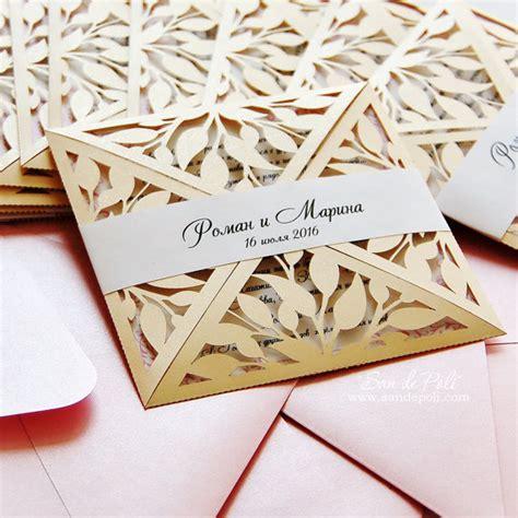 leaf pattern dxf leaves leaf laser cut rustic wedding invitation pattern