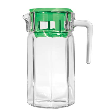 glass pitcher with lid circleware 66752 glass pitcher with lid brandsmart usa