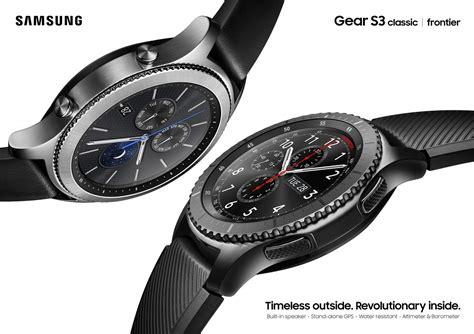 Smartwatch Gear S3 samsung unveils the gear s3 smartwatch at ifa 2016