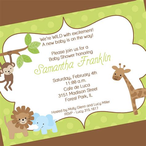 Baby Shower Free by Baby Shower Invitation Free Baby Shower Invitation