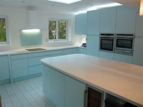 duck egg blue kitchen cabinets ultima duck egg blue handle less kitchen