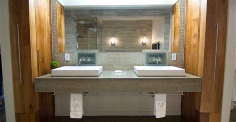 concrete bathroom countertop bathroom countertops concrete designs for bathroom counters and sinks the concrete