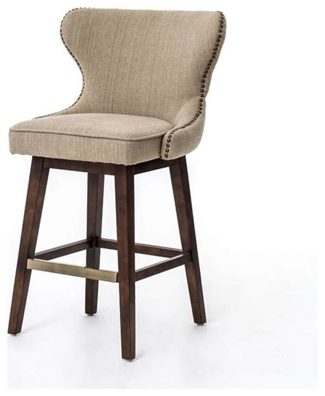 swivel counter height bar stools metro julie swivel barstool hyde clay bar height