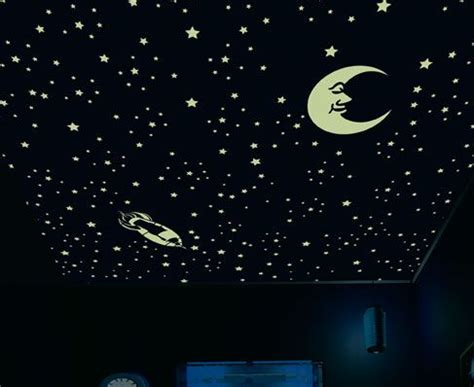 glow in the paint mumbai theme starry sky room inspirations