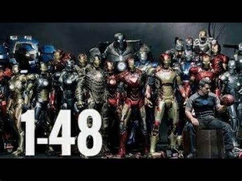 ironman armors mcu youtube