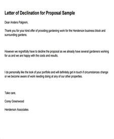 8 business rejection letters free sle exle