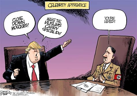 nate beeler cartoons beeler cartoon celebrity apprentice news the patriot