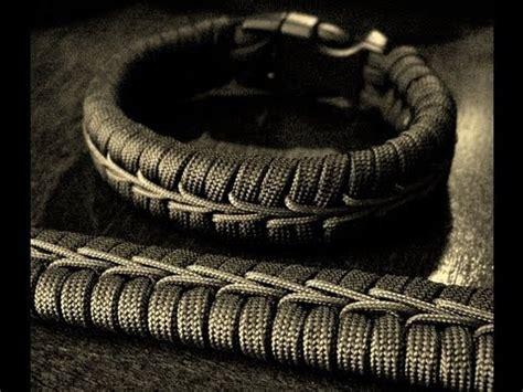 Center Stitched Paracord Bracelet   YouTube
