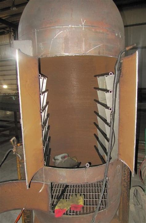 vertical propane tank smoker build propane tank propane