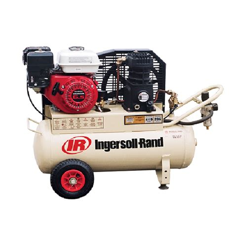 ingersoll rand compressor petrol reciprocating piston compressor 10cfm ingersoll rand el18p caps shop