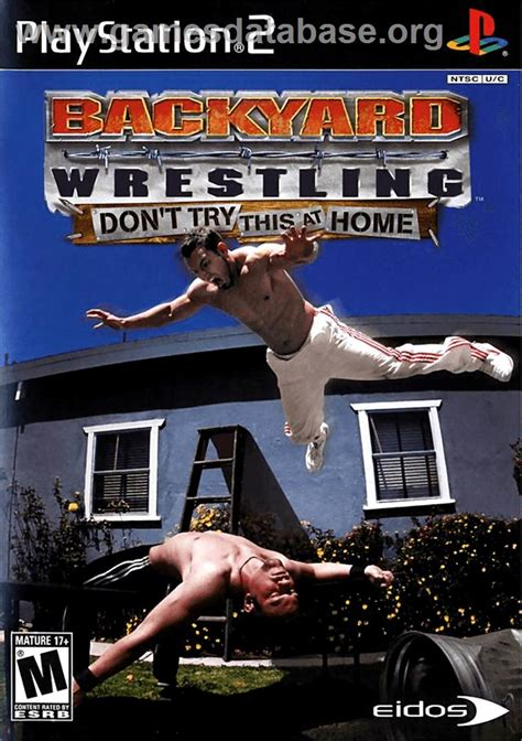 backyard wrestling don t try this at home backyard wrestling don t try this at home sony