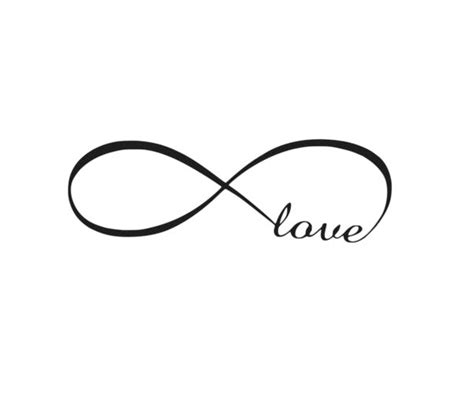 Wall Sticker Infinity Home Decal Room Decor 1 infinity wedding bedroom vinyl diy wall sticker