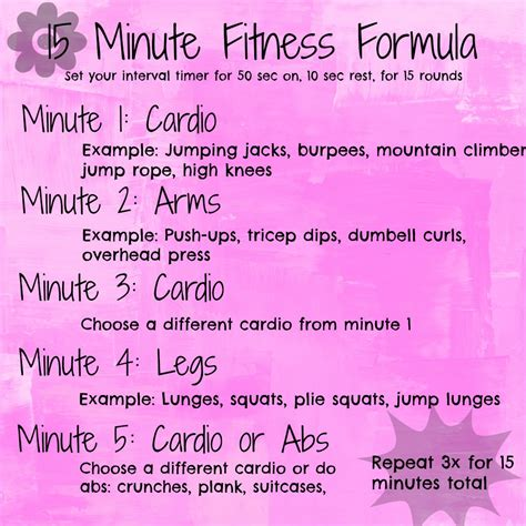 15 minute fitness formula andrea tooley
