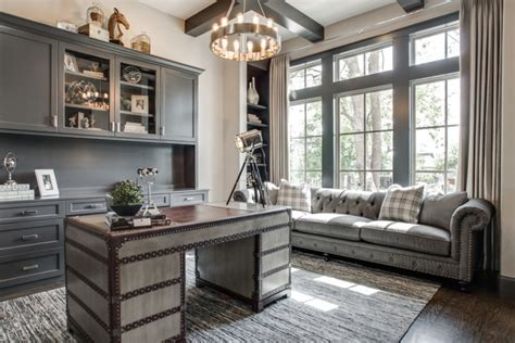 Beautiful Home Offices by 21 Gray Home Office Designs Decorating Ideas Design