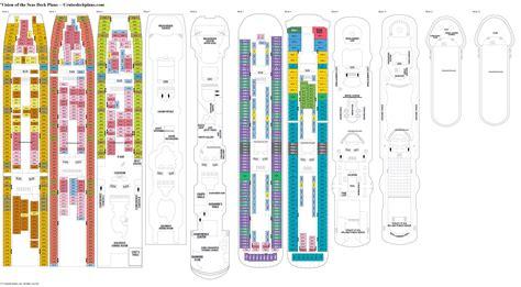 vision of the seas deck 8 vision of the seas deck plans diagrams pictures