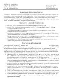 Human Resource Recruiter Cover Letter by Resume Exle 57 Recruiter Resume Sle Recruiter Resume Summary Corporate Recruiter Resume