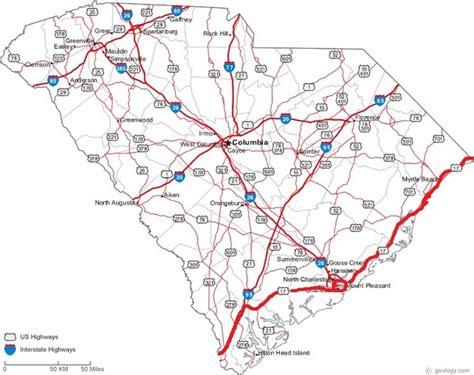 map of carolina highways the pauls revolution december 2012