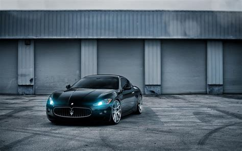 black maserati sports car black maserati luxury car wallpaper cars wallpaper better