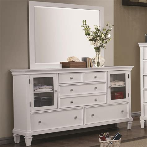 Wood And White Dresser White Wood Dresser A Sofa Furniture Outlet Los