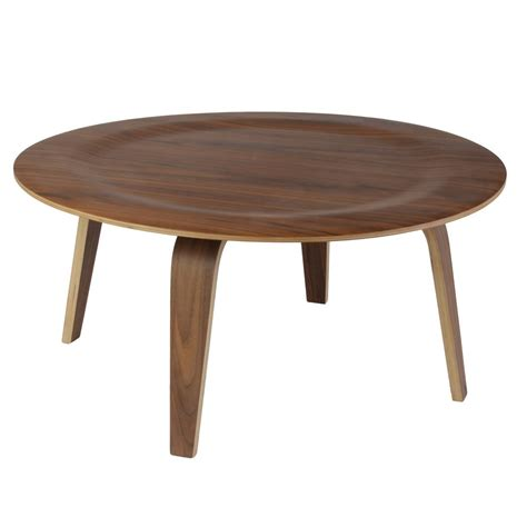 Eames Coffee Tables with Replica Eames Moulded Plywood Coffee Table