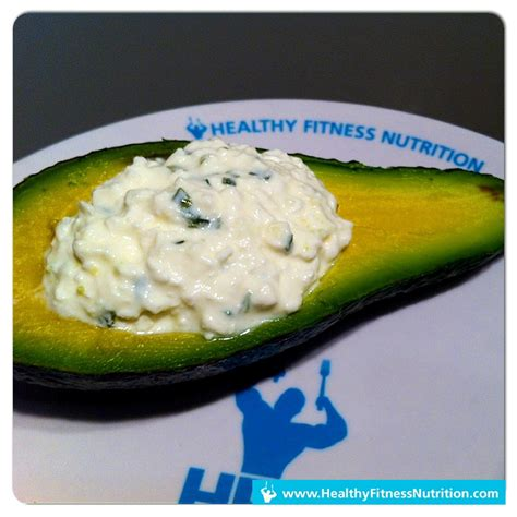 Avocado With Cottage Cheese by Fitness Snack Avocado Mit Cottage Cheese