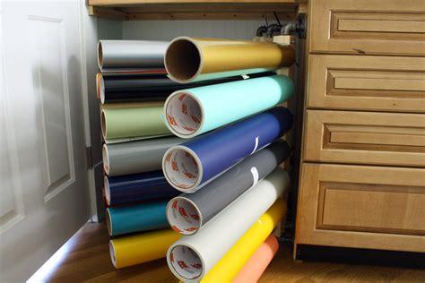 vinyl roll storage rack our diy christmas gifts vinyl storage racks jabaayave