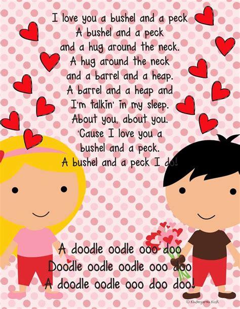 valentin songs 1669 best preschool images on