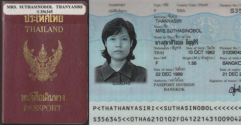 kingdom  thailand passport