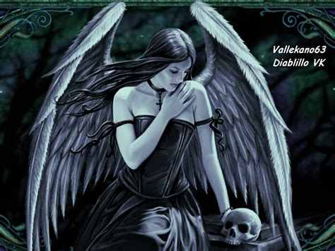 imagenes angel negro fotos y dibujos de vallekano63 angeles negros